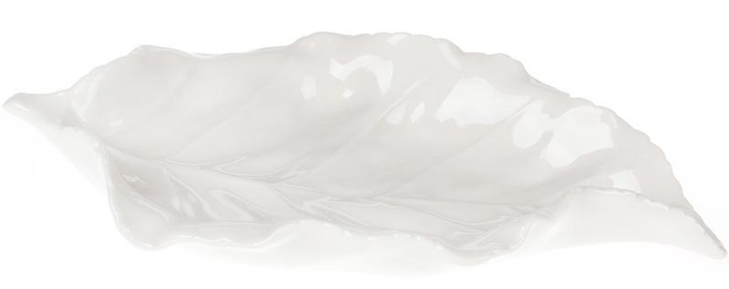 """Подставка для украшений """"Белый лист"""" 21см"""