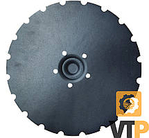 Диск Vaderstad 451371 D=405mm h=5mm (5 отв.) сівалки зубчатий   Rapid