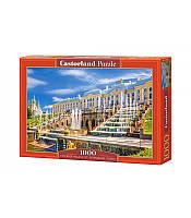 Пазлы Castorland Петергофский дворец 1000 элементов С-103102, фото 1