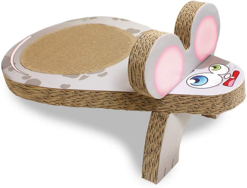 Когтеточка Croci Mouse Gas Cardboard. Мышь 25*45*20 см (гофрокартон)