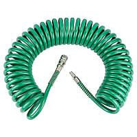 Шланг пневматический спиральный 6.5*10мм*10м REFINE 7012271, фото 1
