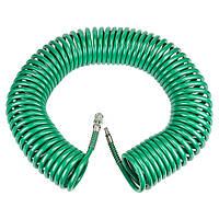 Шланг пневматический спиральный 6.5*10мм*20м REFINE 7012291, фото 1