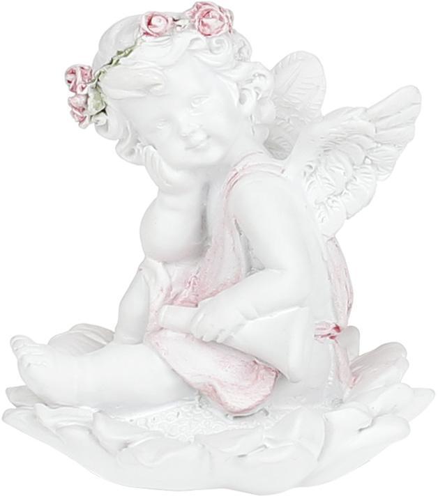 "Статуэтка декоративная ""Ангел на цветке"" 5.8х5.7х6.4см"