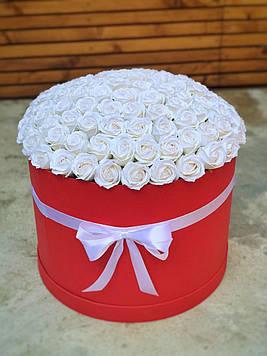 Букет з мила 95 троянд ручна робота