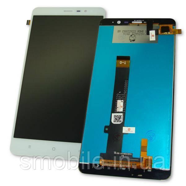Xiaomi Дисплей Xiaomi Redmi Note 3 и Redmi Note 3 Pro с сенсором, белый (147 * 73 мм) (оригинальные