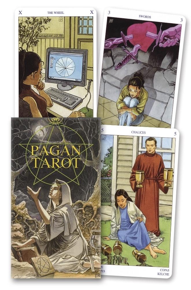 Pagan Tarot/ Языческое Таро (Таро Белой и Черной Магии)