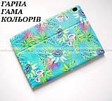 Бирюзовый чехол с рисунком для девушки на Lenovo Tab M10 HD tb-x505L X505F X605L, фото 3
