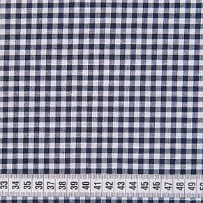 Скатерть клетка Пепита мелкая синяя 1.5м х 1.2м (кухонный стол), фото 3