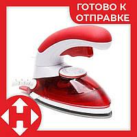 Распродажа! Дорожный утюг, ручной отпариватель, 2 в 1, цвет - красный, HT-558 B, паровой утюг, фото 1