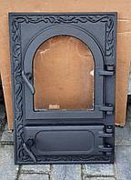 "Дверка для песі,мангала з склом ""Astra""овал-квадрат, фото 1"