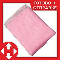 Пляжный коврик, антипесок, розовый, 1,5х2 м, коврик для пляжа, Adroittools, Sand Free Mat