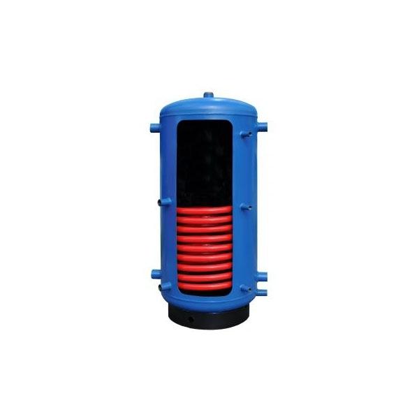 Бак теплоаккумулятор Kraft 2000 с нижним змеевиком без утепления