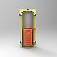 Бак теплоаккумулятор Kraft 2000 с нижним змеевиком без утепления, фото 3
