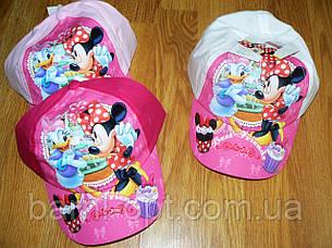 Кепки для дівчаток оптом, Disney Minie , 52-54 рр, фото 2