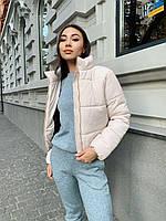 Модная женская осенняя куртка из плащевки 42-48 р
