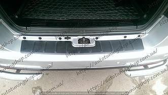 Накладка на задний бампер SSangYong Rexton 2007 - 2013 -