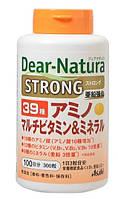 Витаминный усиленный комплекс Dear Natura STRONG витамины минералы аминокислоты - 39 компонентов на 100 дней