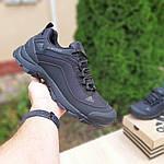 Чоловічі зимові кросівки Adidas Climaproof (чорні) 3584, фото 2