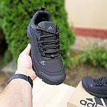 Чоловічі зимові кросівки Adidas Climaproof (чорні) 3584, фото 9