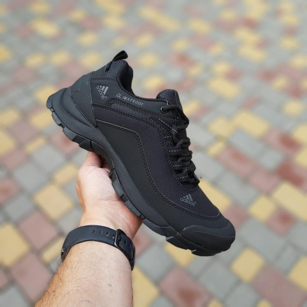 Чоловічі зимові кросівки Adidas Climaproof (чорні) 3584