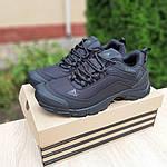 Чоловічі зимові кросівки Adidas Climaproof (чорні) 3584, фото 3