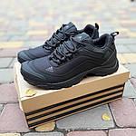 Чоловічі зимові кросівки Adidas Climaproof (чорні) 3584, фото 8