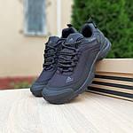 Чоловічі зимові кросівки Adidas Climaproof (чорні) 3584, фото 6