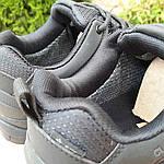 Чоловічі зимові кросівки Adidas Climaproof (чорні) 3584, фото 7