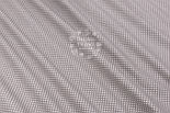"""Ткань хлопковая шириной 240 см """"Пшено"""" белое на сером (№3000), фото 2"""