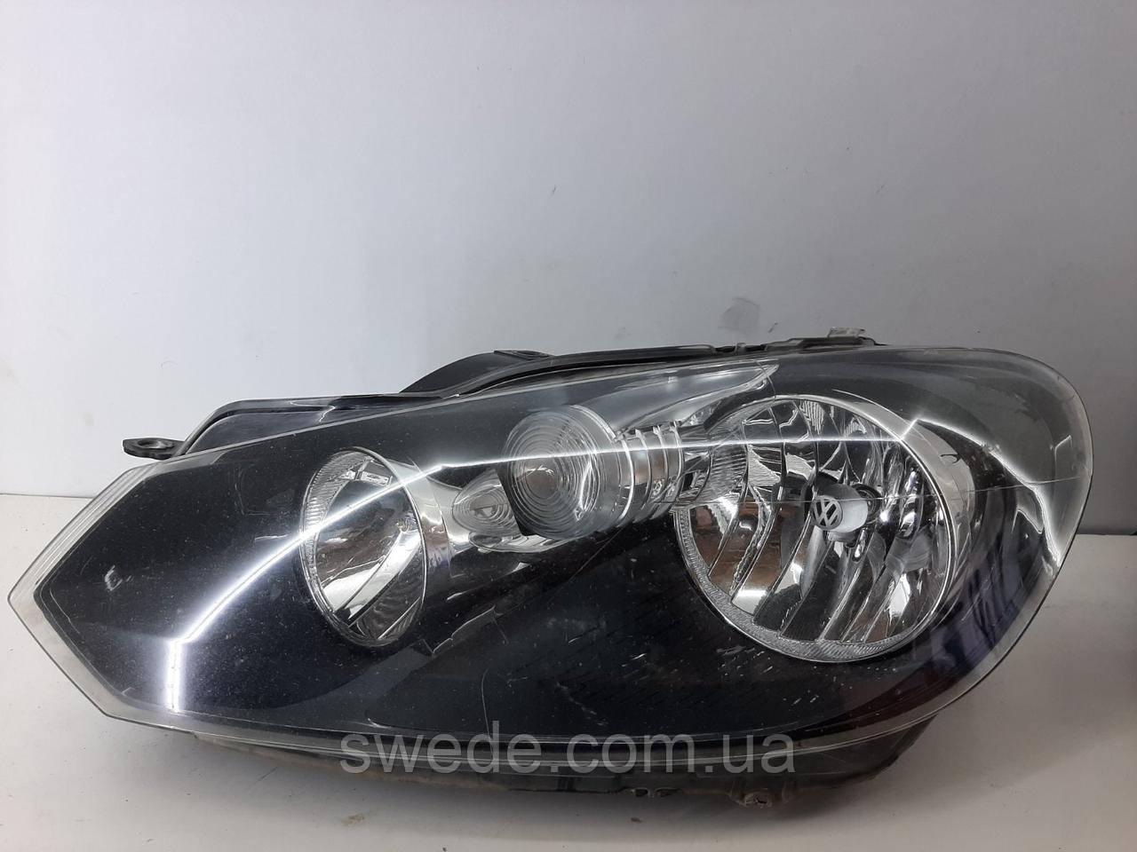Фара левая Volkswagen Golf 6 2009-2014 гг 5K1941005J