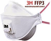Респиратор 3М 9332 Aura FFP3 фильтрующая полумаска 1 шт Оригинал