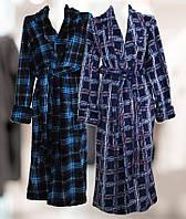 Халат мужской длинный цветной,интернет магазин,мужская одежда от производителя, велсофт
