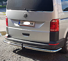 Защита заднего бампера на Volkswagen Transporter T5 \ T6 (2003-2015)