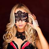 Женская карнавальная маска на глаза U, фото 8