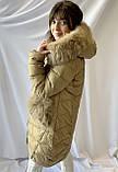 Тёплая зимняя женская куртка, норма, фото 4