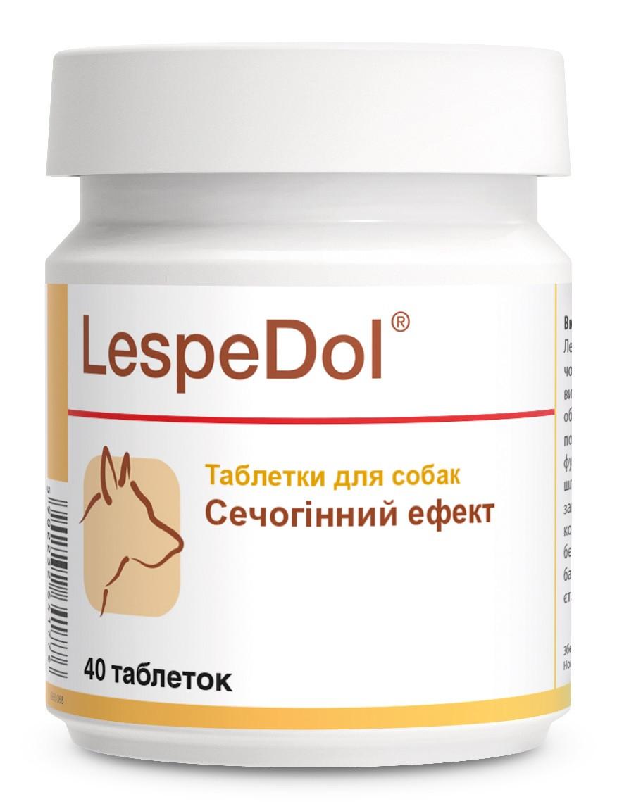 Мочегонный препарат для собак Леспедол Dolfos LespeDol 40 табл.