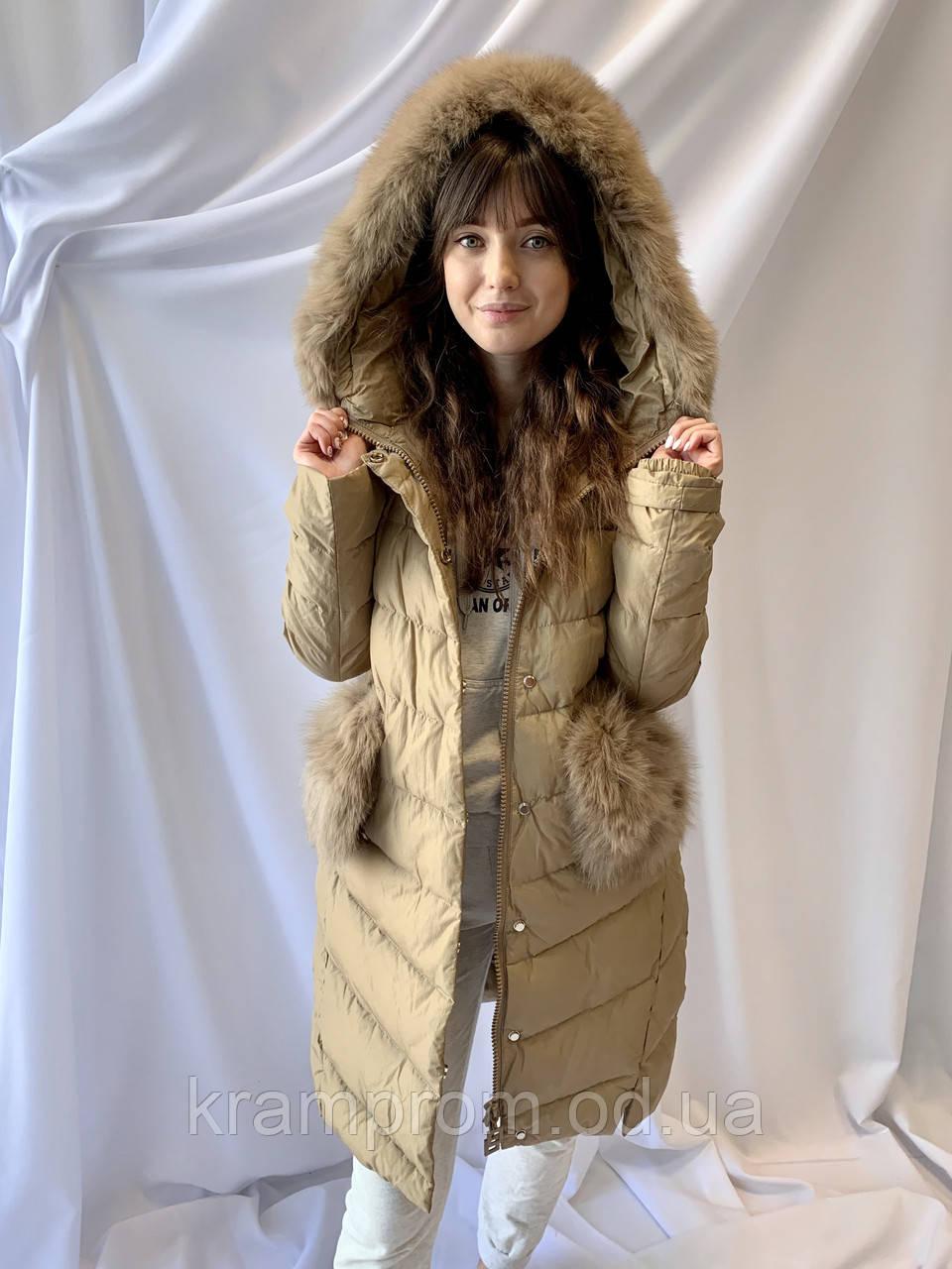 Тёплая зимняя женская куртка, норма
