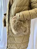 Тёплая зимняя женская куртка, норма, фото 2