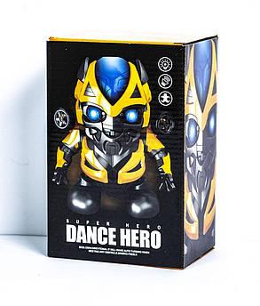 Музыкальный Танцующий Робот Бамблби, интерактивный Bumblebee