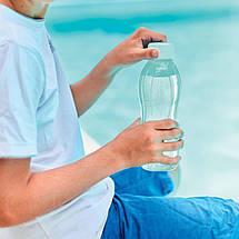 Еко пляшка (500 мл) Tupperware (світло-блакитна з гвинтовою кришкою), фото 2