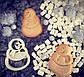 Висічка для пряників у вигляді сніговичка, фото 3