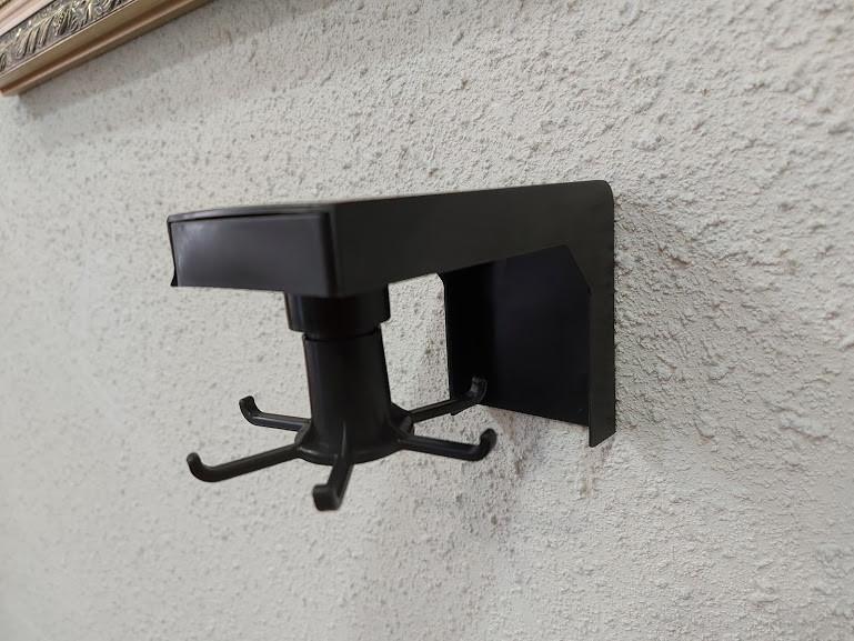Навесной кухонный держатель Lesko на 6 крючков для кухонных приборов
