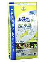 Корм для собак Bosch Sensitive Lamb & Rice, гипоаллергенный, 15 кг
