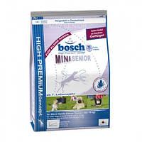 Корм для пожилых собак Bosch Mini Senior, 2,5 кг