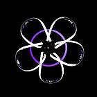 Светодиодная люстра СветМира 120 Вт с диммером и подсветкой основания VL-89697/5 LED (хром), фото 4