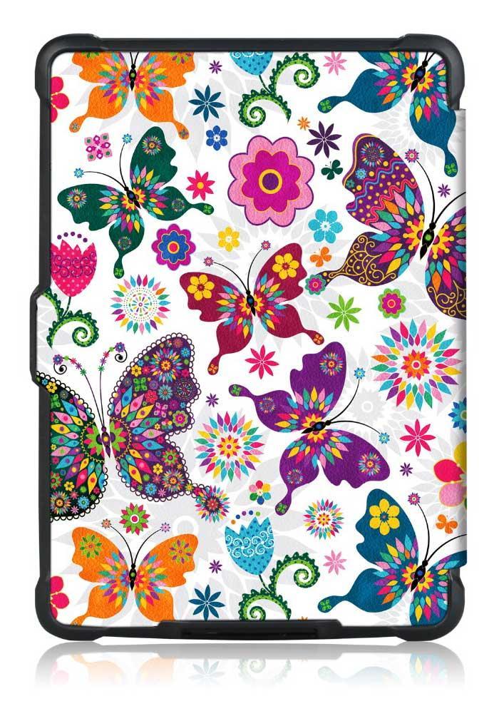 TPU Чехол PocketBook 628 Touch Lux 5 - рисунок Бабочки
