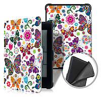 Чехол для PocketBook 633 Color - рисунок Бабочки – обложка электронной книги Покетбук, фото 1