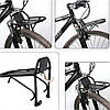 Велосипедный багажник передний универсальный,Алюминиевый,велобагажник передний, багажник на велосипед передний
