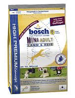 Корм для собак Bosch Mini Adult, Ягненок + Рис, 15 кг