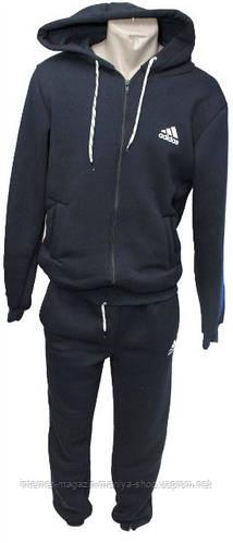 Спортивный костюм мужской утепленный норма трикотаж